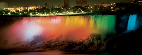 Ramada By Wyndham Niagara Falls By The River - Nightly Falls Illumination