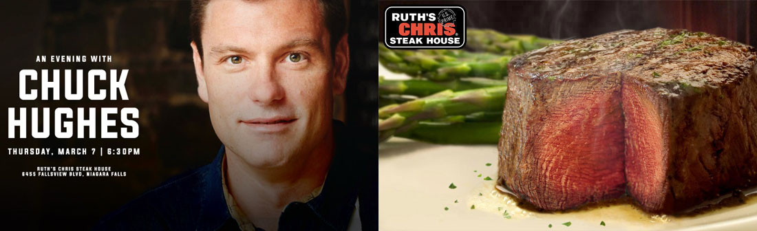 Ramada By Wyndham Niagara Falls By The River - An Evening with Chuck Hughes Package