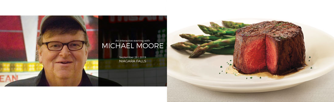 Ramada By Wyndham Niagara Falls By The River - An Interactive Evening With Michael Moore Package