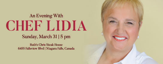 Ramada By Wyndham Niagara Falls By The River - An Evening with Chef Lidia