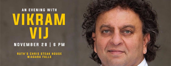 Ramada By Wyndham Niagara Falls By The River - An Evening with Vikram Vij Package