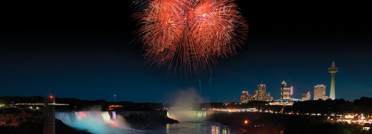 Fireworks & Illumination - Ramada By Wyndham Niagara Falls By The River