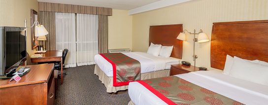Ramada By Wyndham Niagara Falls By The River - 2 Queen Beds Deluxe Room